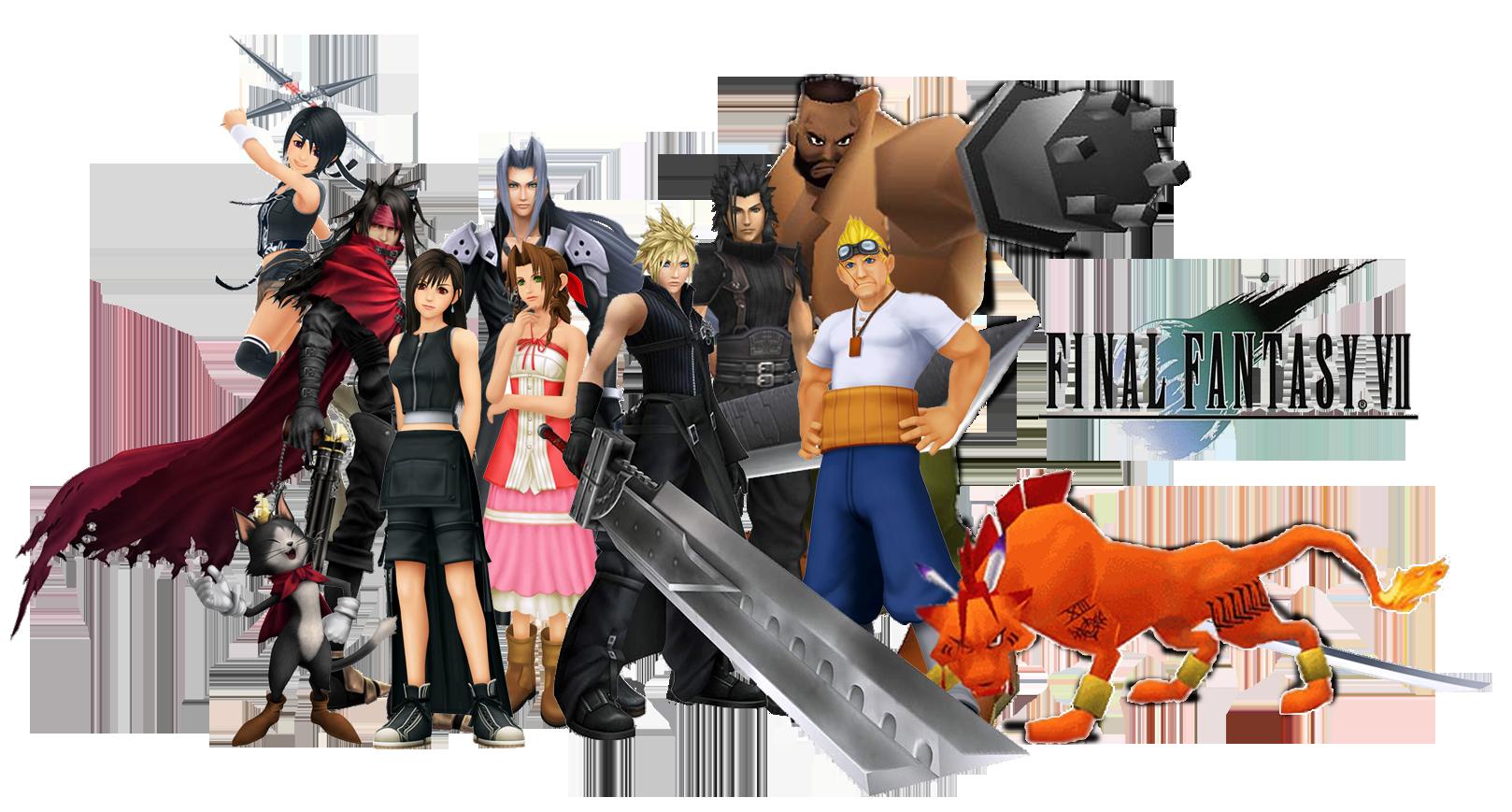 All final fantasy main characters - photo#26