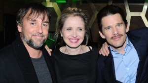Linklater, Julie Delpy, and Ethan Hawke/Photo: Getty