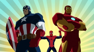 CAPTAIN AMERICA, SPIDER-MAN, IRON MAN
