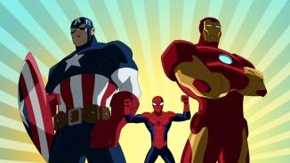 CAPTAIN AMERICA, SPIDER-MAN, IRON MAN