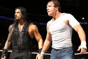 Reigns and Ambrose (Photo: WWE)
