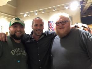 L to R: Travis Nash, Paul Thorn, and Yeti (Photo: Travis Nash)