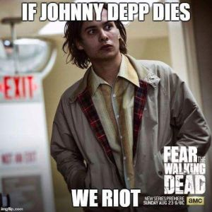 Johnny Depp meme