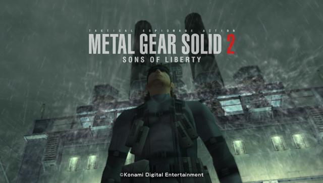 Metal Gear Solid 2 opening superfriendsuniverse