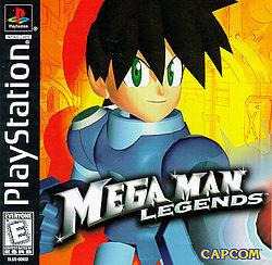 Mega Man Legends box