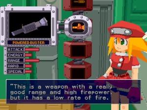 Mega Man Weapon upgrade