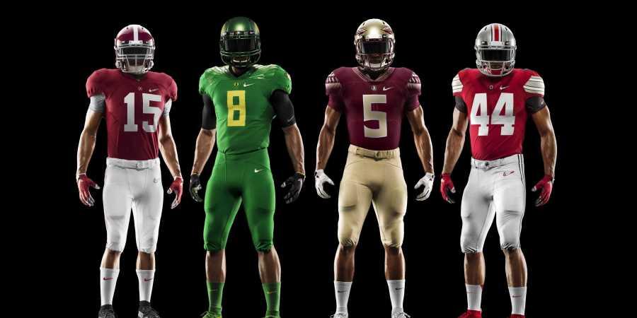 Nike Uniform Football Final Four