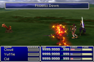 FFVII potion screen