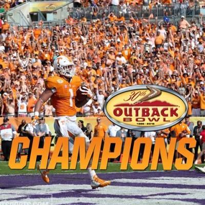 UT Outback Bowl champ