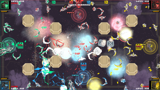 Stardust four player battle