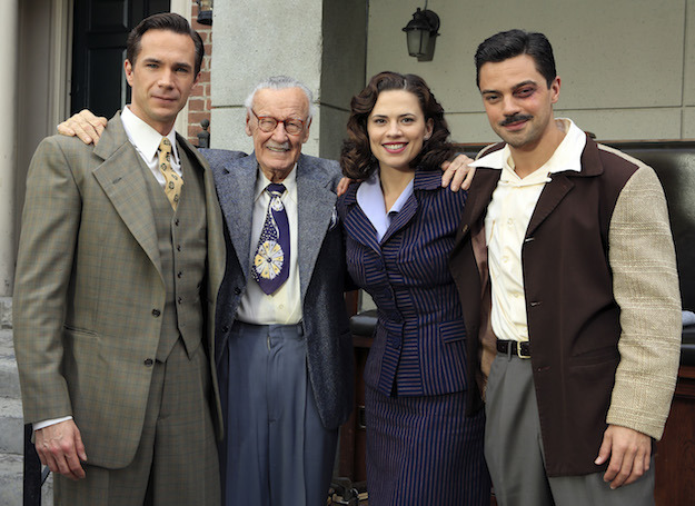 JAMES D'ARCY, STAN LEE, HAYLEY ATWELL, DOMINIC COOPER