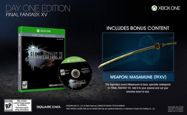 Xbox One FF XV